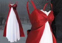 Rotes-Hochzeitskleid
